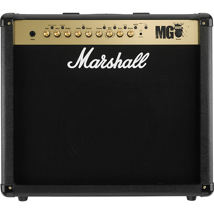 Marshall MG4 Series MG101FX 100W 1x12 Guitar Combo Amp Black