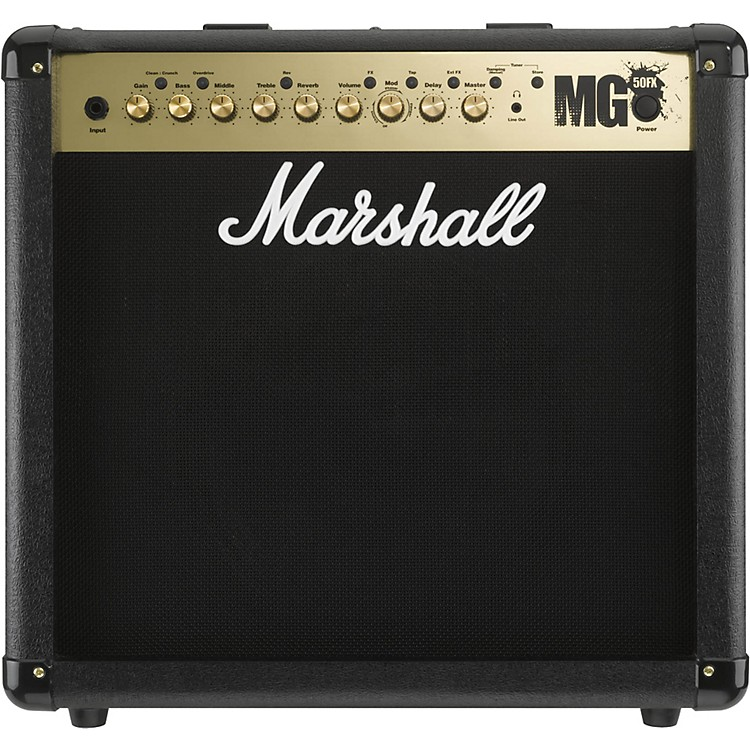 Marshall MG4 Series MG50FX 50W 1x12 Guitar Combo Amp Black