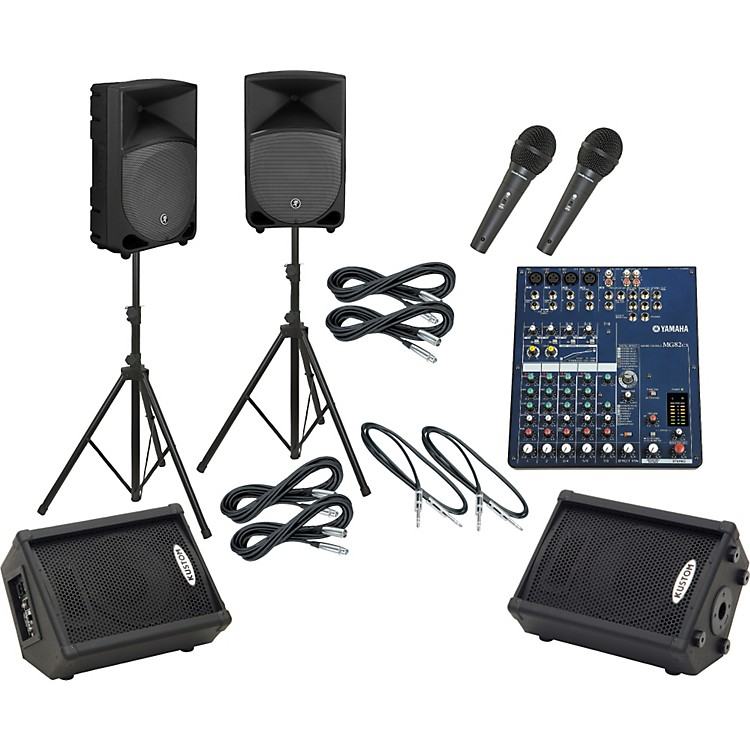 Yamaha MG82CX / TH-12A Mains & Monitors Package