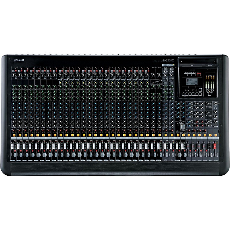 Yamaha MGP32X 32-Input Hybrid Digital/Analog Mixer with USB Rec/Play and Effects