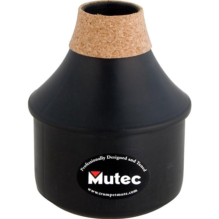 MutecMHT162 True Tone Series Black Polymer Trumpet Practice MuteBlack