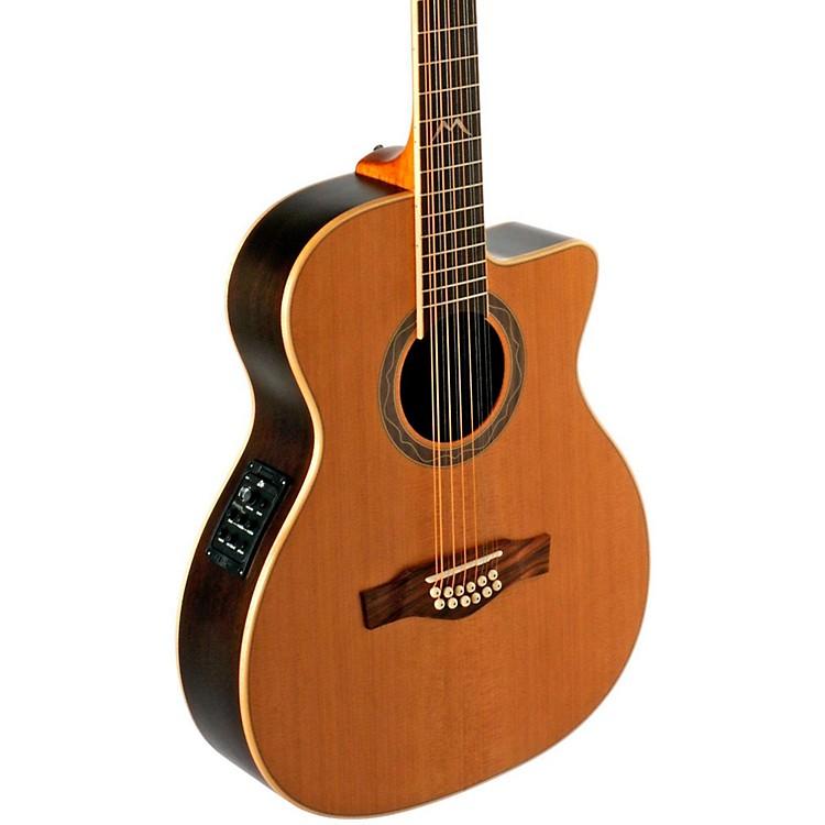EKOMIA Series 12-String Auditorium Acoustic-Electric GuitarNatural