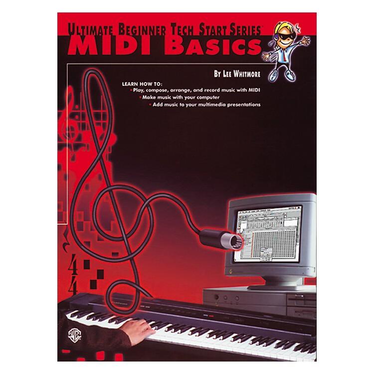 AlfredMIDI Basics Book