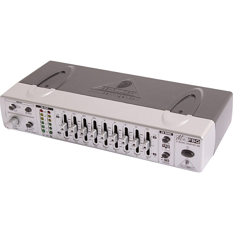 BehringerMINIFBQ FBQ800 9-Band Graphic Equalizer with FBQ