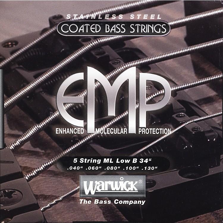WarwickML5B EMP COATED 5-String Bass Strings Medium Light