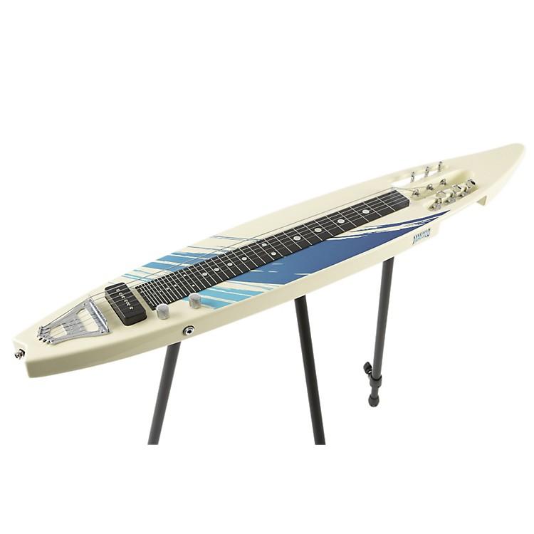 MahaloMLP-100 Lap Steel GuitarWhite