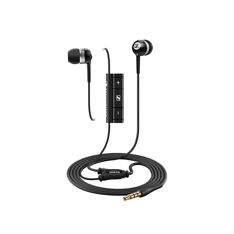 SennheiserMM 70i In-Ear Stereo Headphones w/ MicrophoneBlack