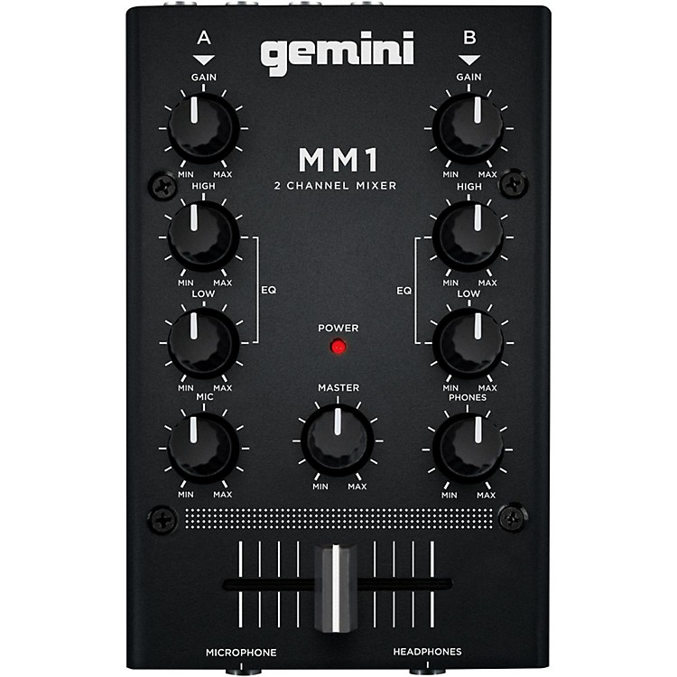 GeminiMM1 2 Channel Audio Mixer