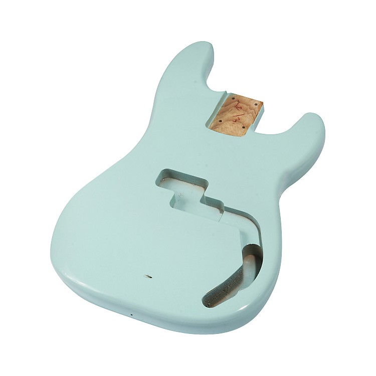 Mighty Mite MM2702 P-Bass Replacement Body Arctic White