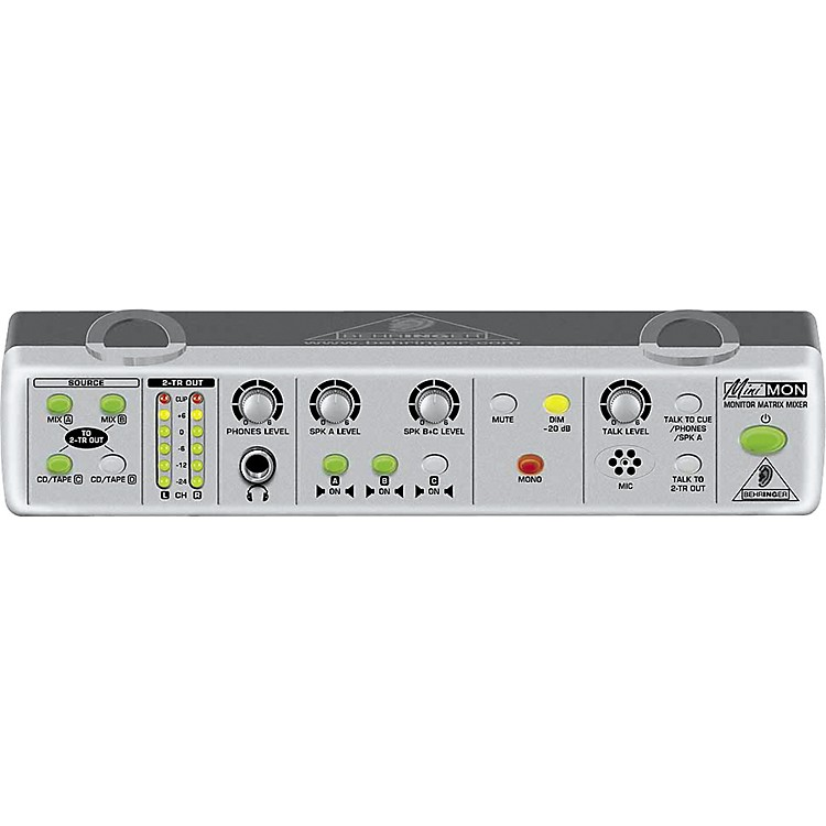 BehringerMON800 MiniMON Stereo Monitor Matrix Mixer