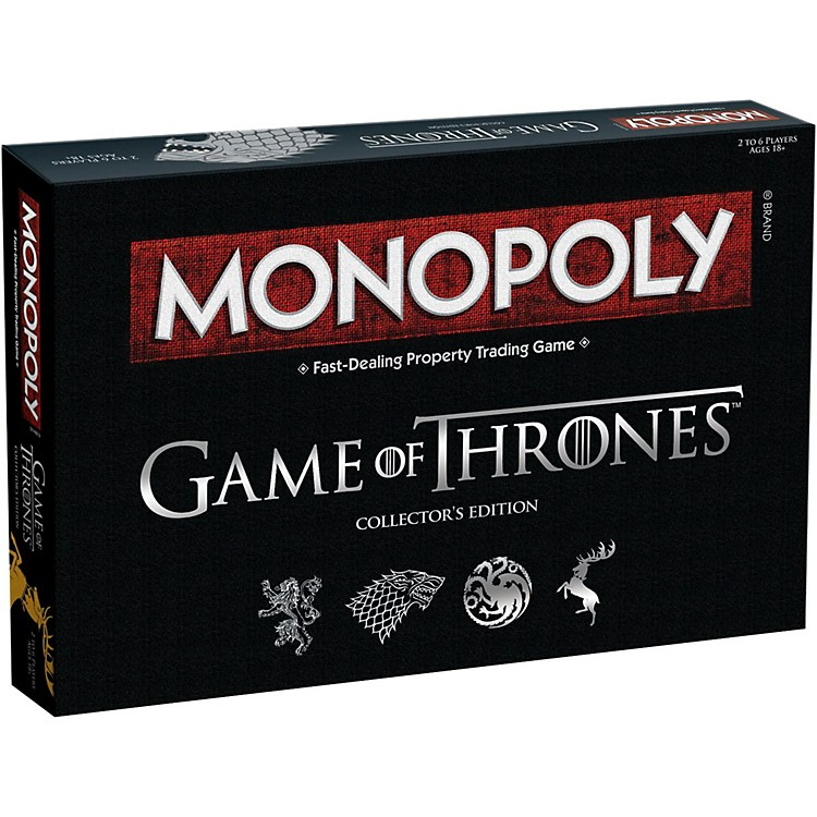 USAOPOLYMONOPOLY: Game of Thrones Collector's Edition