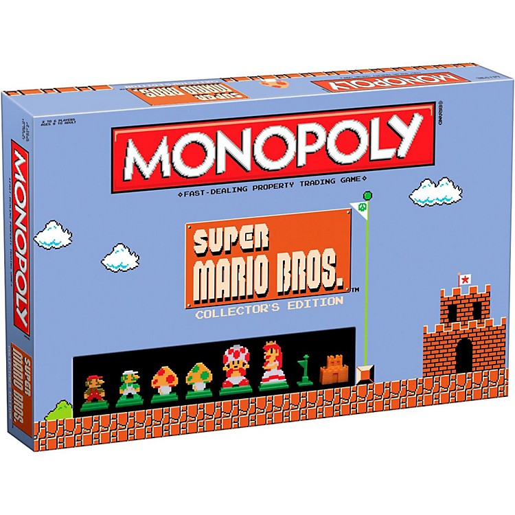 USAOPOLY MONOPOLY: Super Mario Bros. Collector's Edition