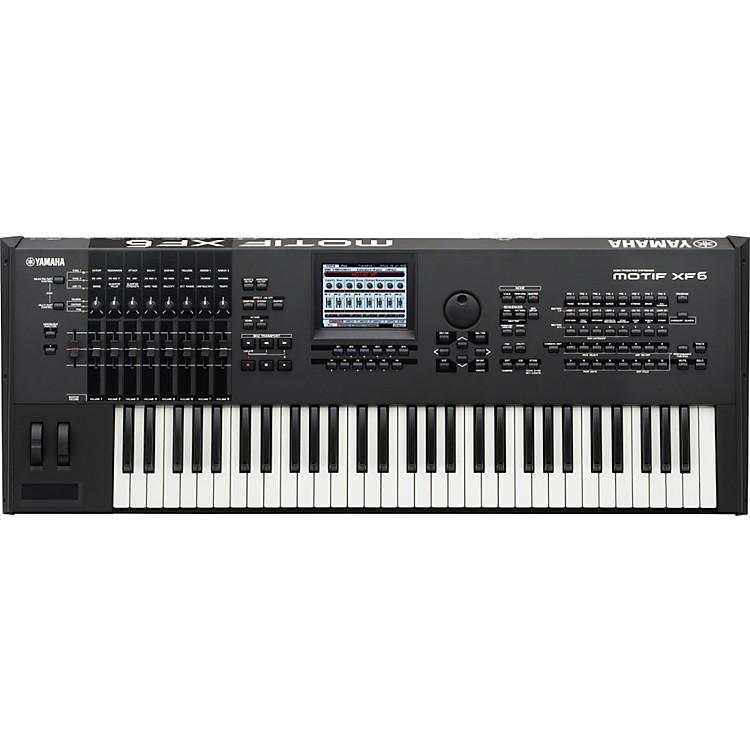 YamahaMOTIF XF6 61-Key Music Production Synthesizer
