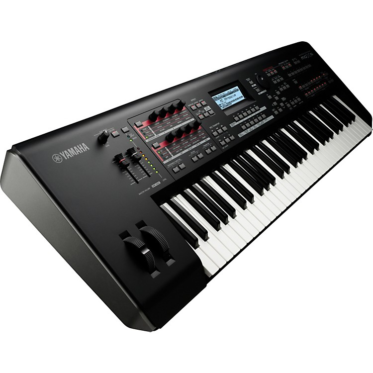 Yamaha MOX6 61-Key Semi-Weighted Music Production Synthesizer Workstation