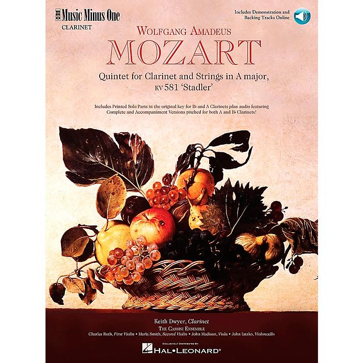 Hal LeonardMOZART Quintet in A major, KV581