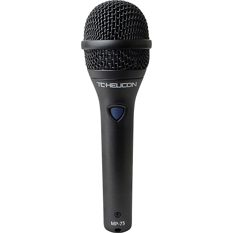 TC HeliconMP-75 Dynamic Handheld Microphone with Helicon Control Switch
