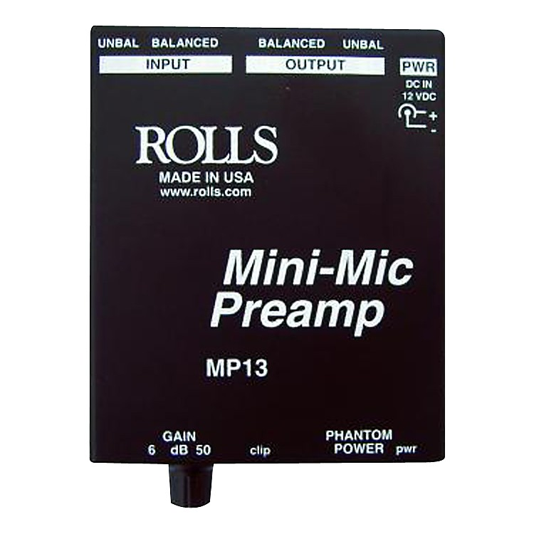 Rolls MP13 Mini-Mic Preamp