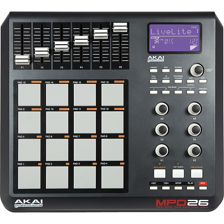 Akai Professional MPD26 Performance Pad Controller