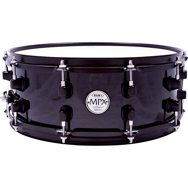 Mapex MPX Birch Snare Drum 14 in. x 5.5 in. Black