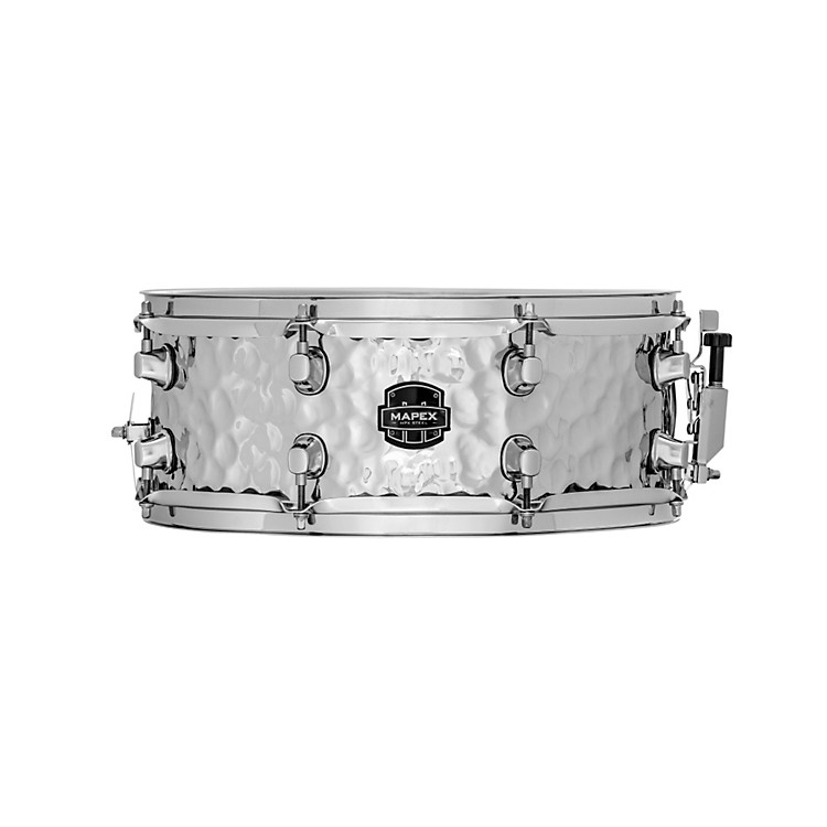 Mapex MPX Steel Hammered Snare Drum 14 x 5.5 Inch