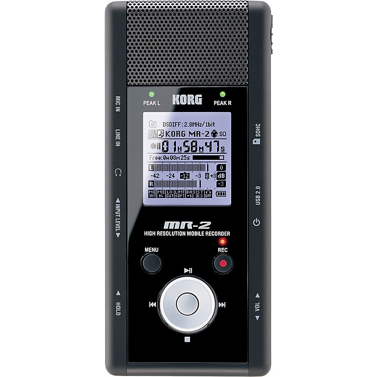 KorgMR-2 High-Resolution Mobile Recorder