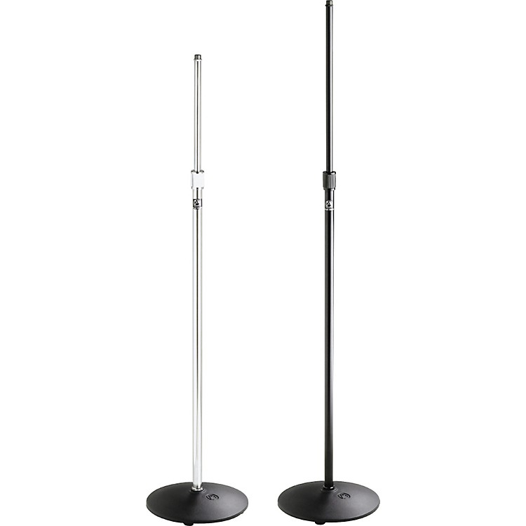 Atlas Sound MS-12C Round Base Mic Stand Ebony