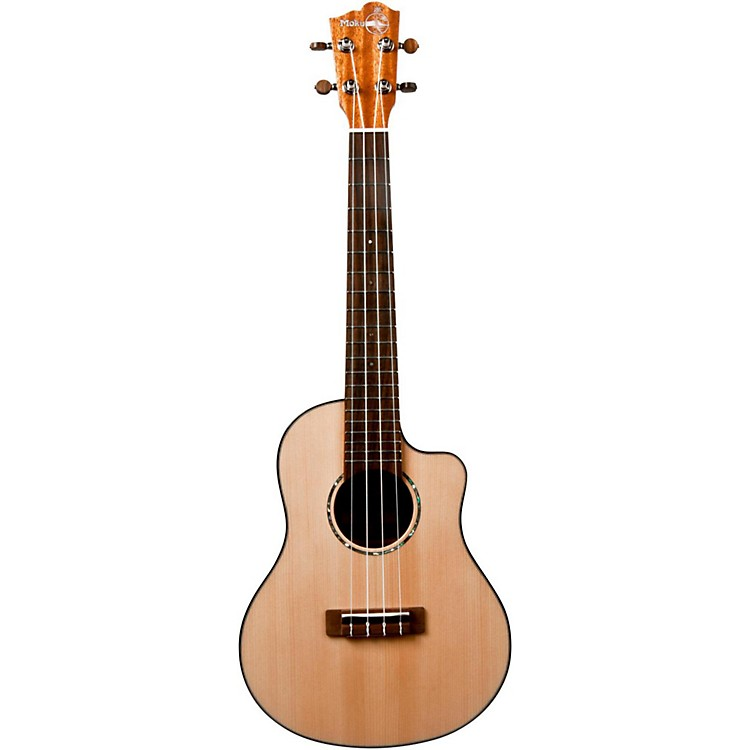 Moku MS-90TC Mahogany Tenor Acoustic-Electric Ukulele Natural