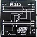 Rolls MS20 Mic Splitter