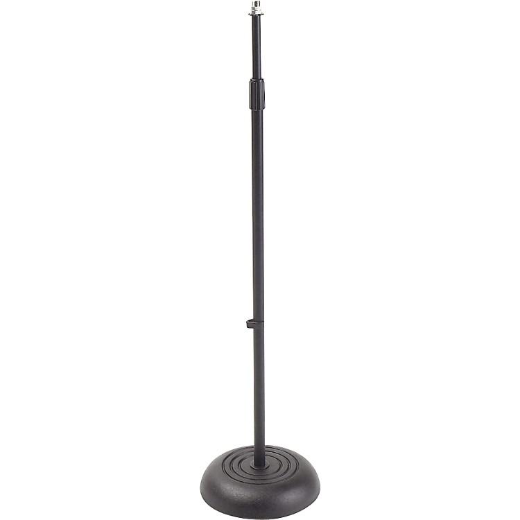 ProlineMS235 Round Base Microphone StandBlack