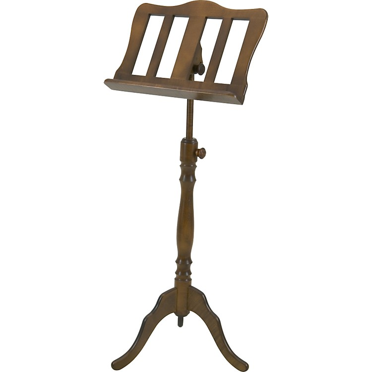 Stageline MS40 Music Stand Walnut