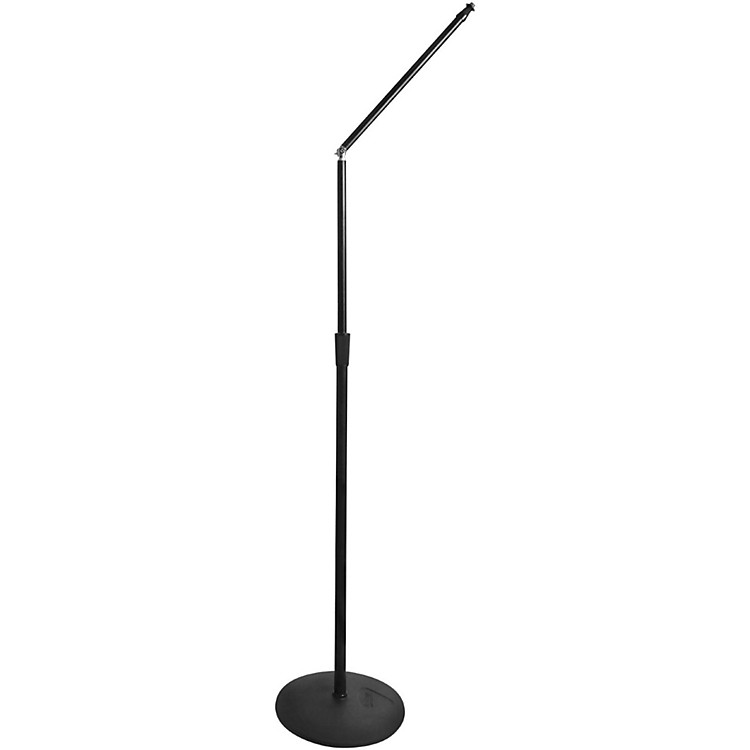 """On-Stage StandsMS8312 Upper Rocker-Lug Mic Stand with 12"""" Low-Profile Base"""