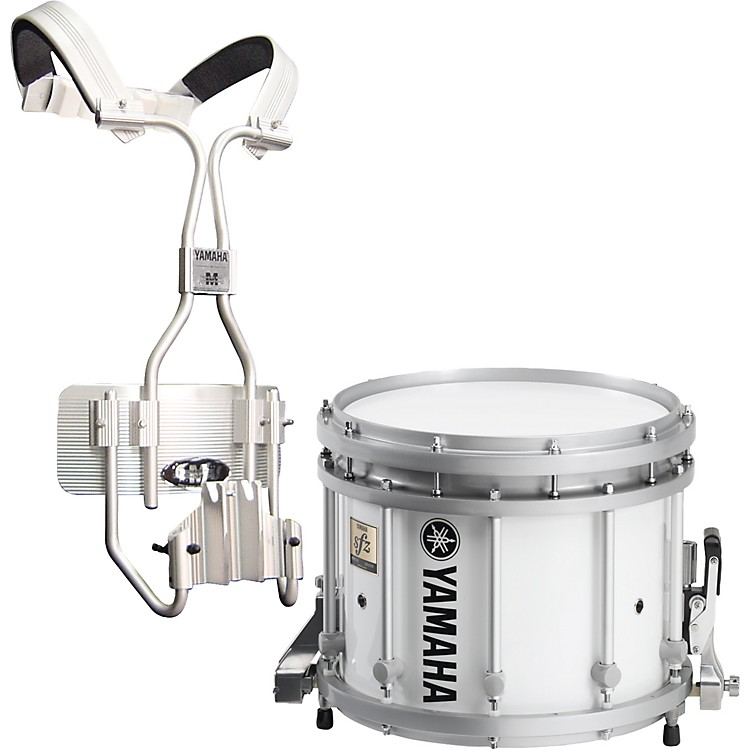 Yamaha MS9213 SFZ White Marching Snare Drum