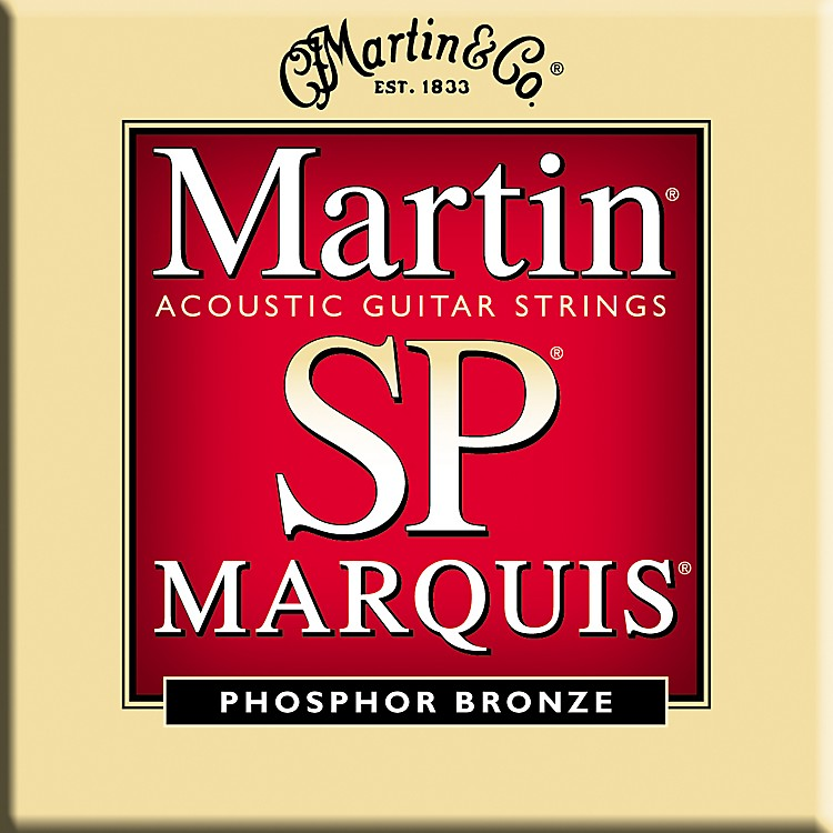 Martin MSP2100 Marquis 92/8 Phosphor Bronze Light Guitar Strings