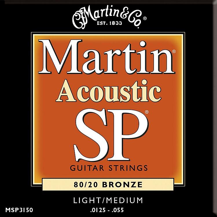 MartinMSP3150 SP Bronze Light/Medium Acoustic Guitar Strings