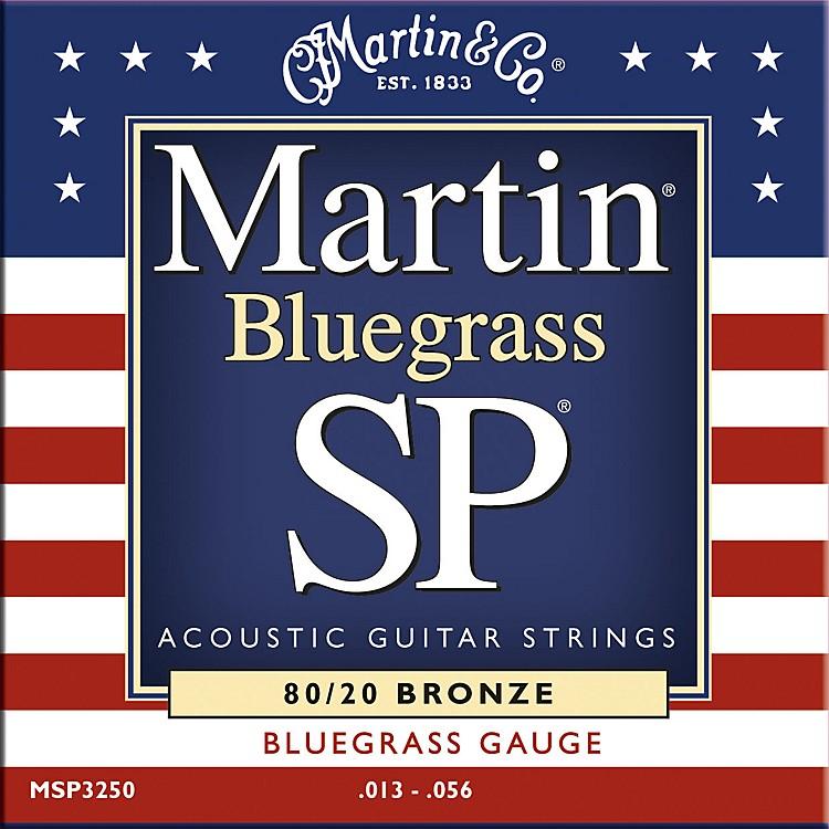 MartinMSP3250 SP Bronze Bluegrass Medium Acoustic Guitar Strings