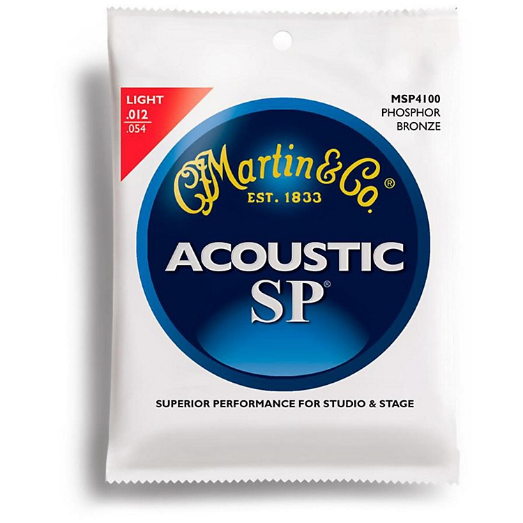 MartinMSP4100 Phosphor Bronze Light Acoustic Strings