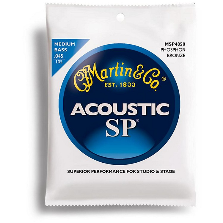 MartinMSP4850 SP Acoustic Phosphor Medium Acoustic Bass 4 String