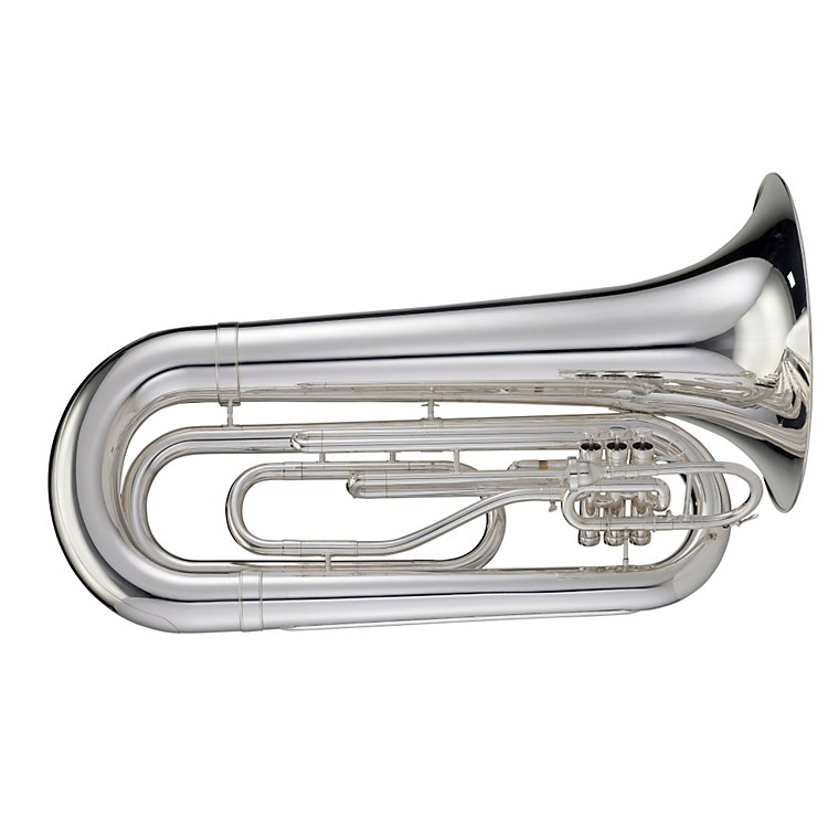 Adams MTB1 Series Marching BBb Tuba MTB1S Silver