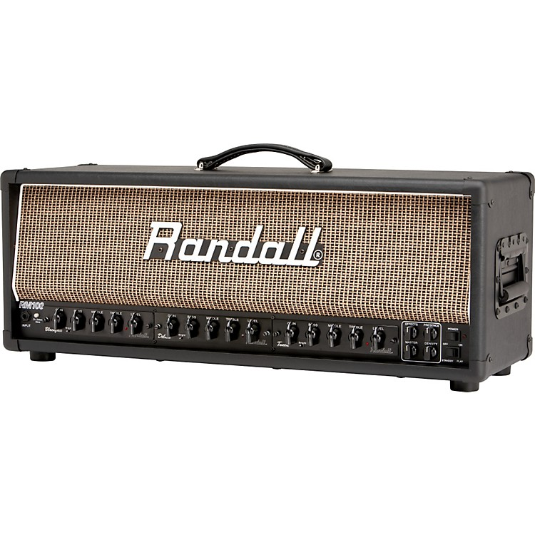 Randall MTS Series RM100MF 100W Tube Guitar Amp Head Black