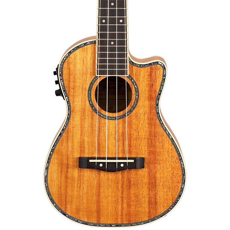 Mitchell MU100CE Acoustic-Electric Concert Ukulele Natural Koa