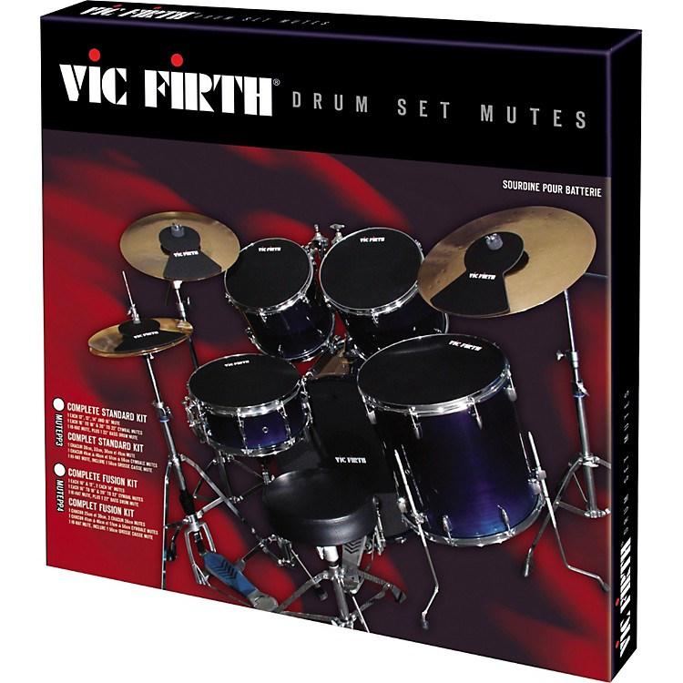 Vic FirthMUTEPP3 Mute Prepack 3 - Complete Standard Kit