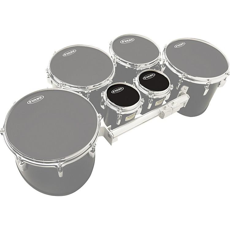 EvansMX Black Tenor Drumhead 6