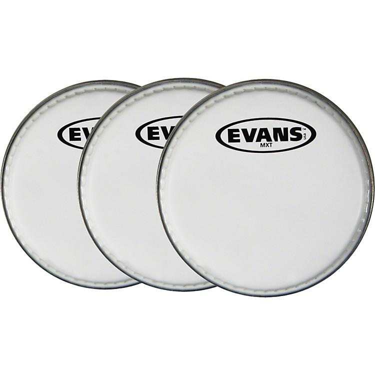 EvansMX White Tenor Drumhead 6
