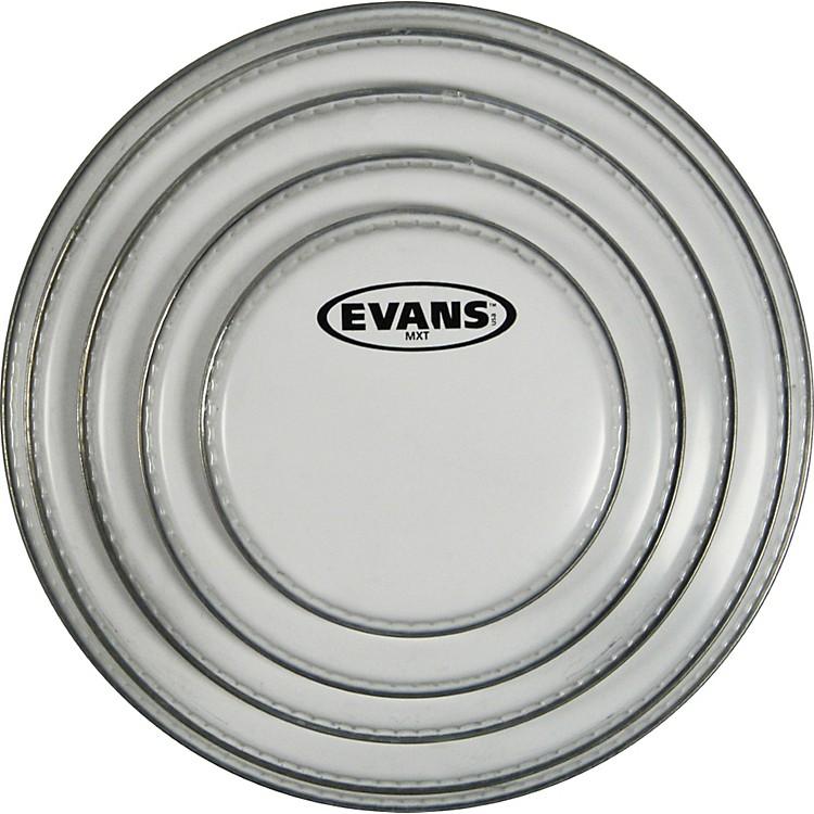 EvansMX White Tenor Head10 in.