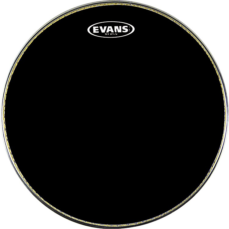 Evans MX1 Marching Bass Drum Head Black 28 in.