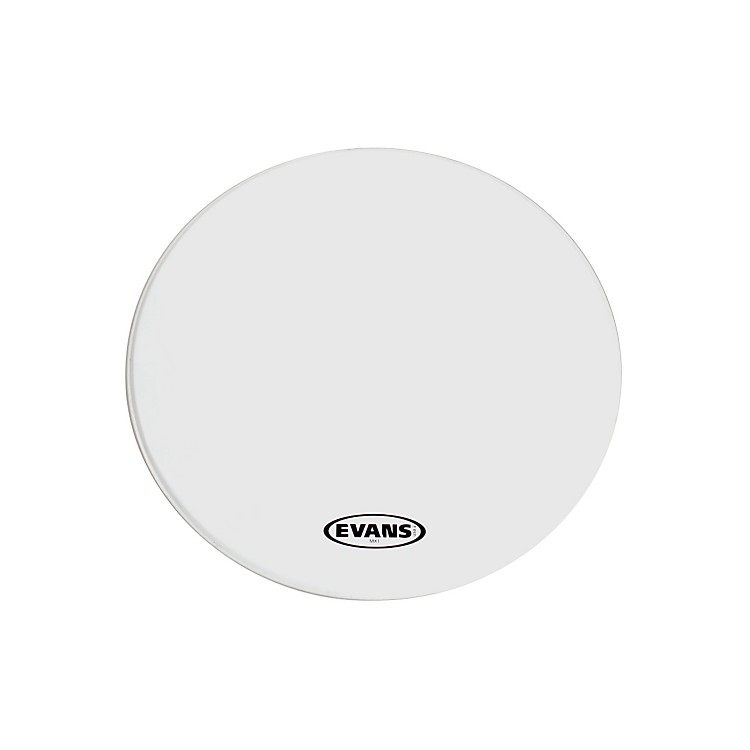 EvansMX1 White Marching Bass Drum Head30 in.White