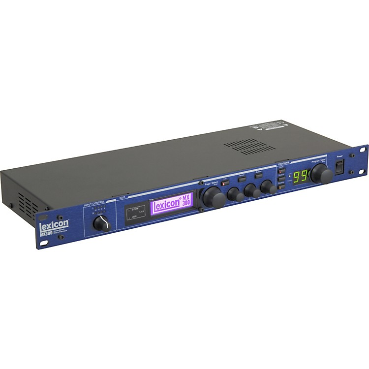 LexiconMX300 Stereo Reverb Effects Processor with USB