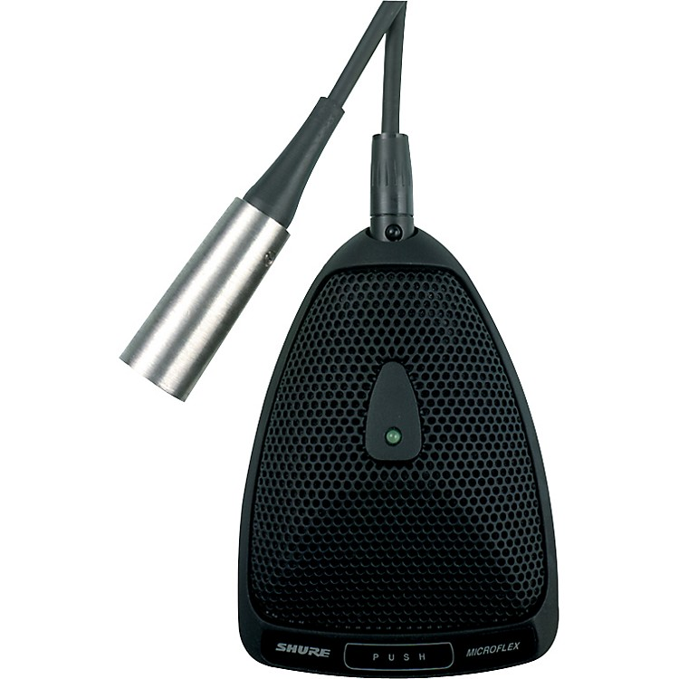 Shure MX393 Low Profile Boundary Mic  Omni