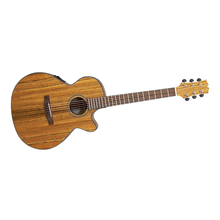 MitchellMX400 Exotic Wood Acoustic-Electric guitarOvangkolTrans Orange stain