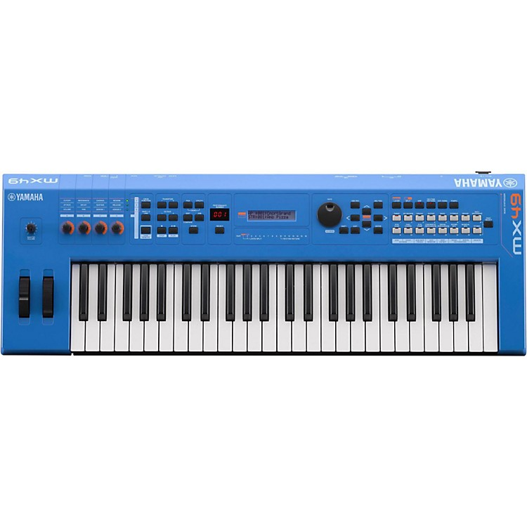 YamahaMX49 49 Key Music Production SynthesizerElectric Blue